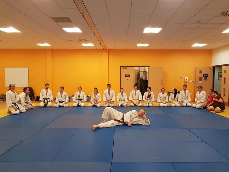 Lead Universities Club Instructor, Jake Walker Sensei.