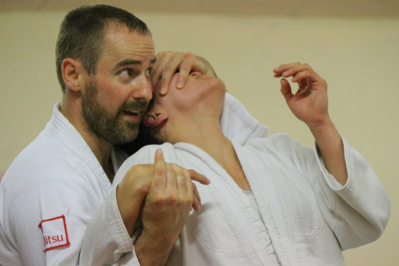 Lead Town Club Instructor, Simon Hewings Sensei.
